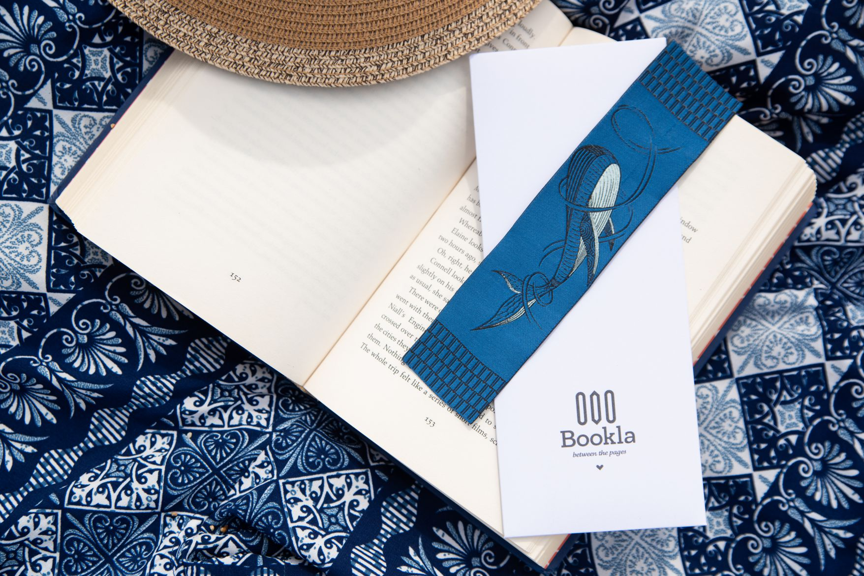 Whale bookmarks by Bookla Bookmarks