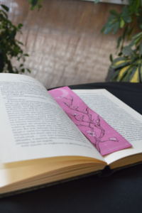 Thin bookmark is the best option for your book