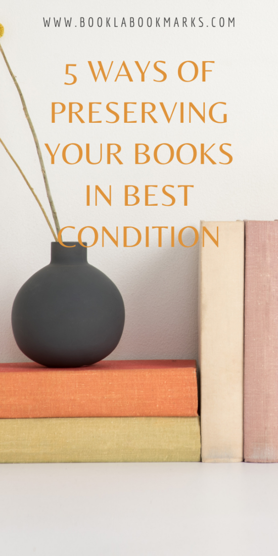 5 ways of preserving your books